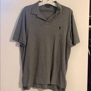 Grey Ralph Lauren Polo Shirt